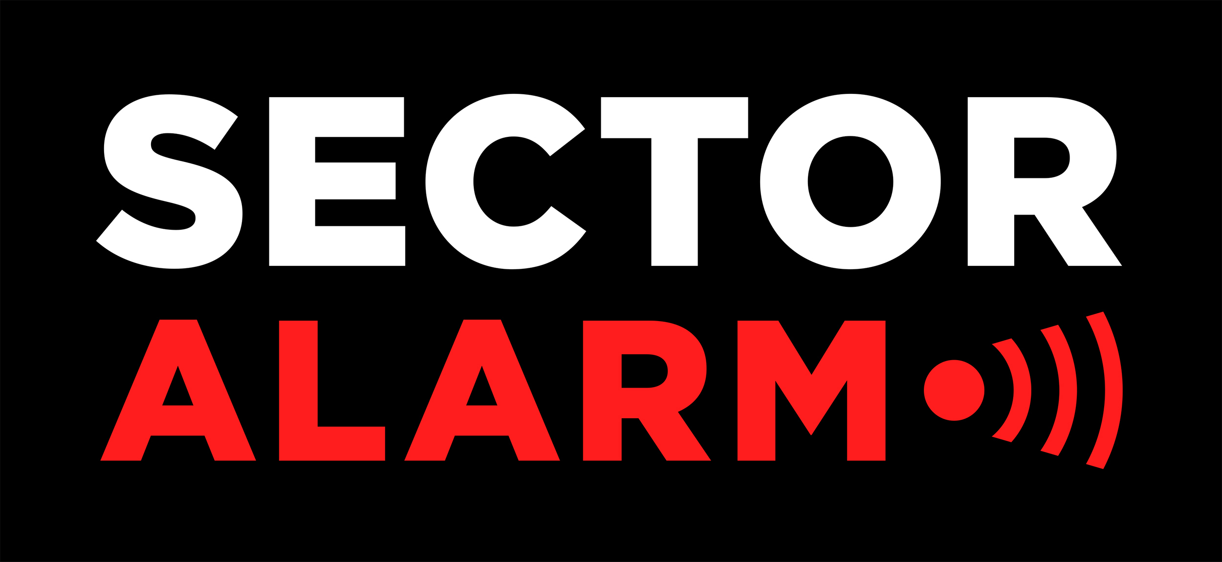 Larmbolaget Sector Alarms logotyp
